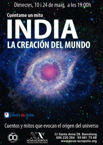 INDIA: LA CREACIÓN DEL MUNDO