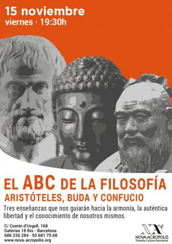 EL ABC DE LA FILOSOFÍA: ARISTÓTELES, BUDA Y CONFUCIO