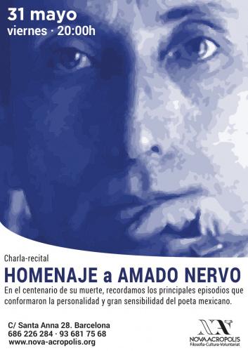 Charla-recital: Homenaje a Amado Nervo