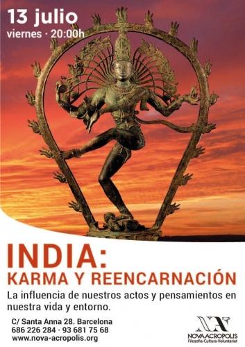 INDIA: KARMA Y REENCARNACIÓN