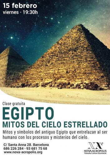 Clase gratuita:  Egipto: Mitos del cielo estrellado