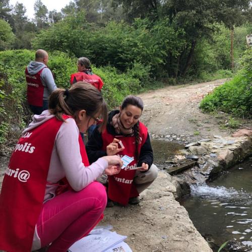 Limpieza del Río Ripoll - voluntariado ecológico